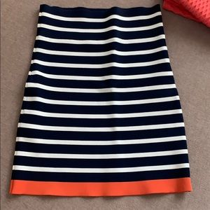 BCBG striped knit skirt